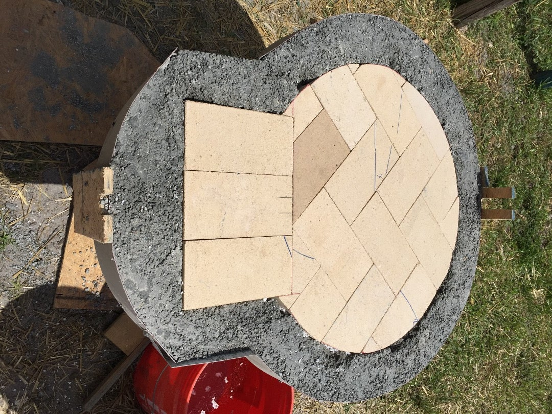 Stand and Pavers Base.