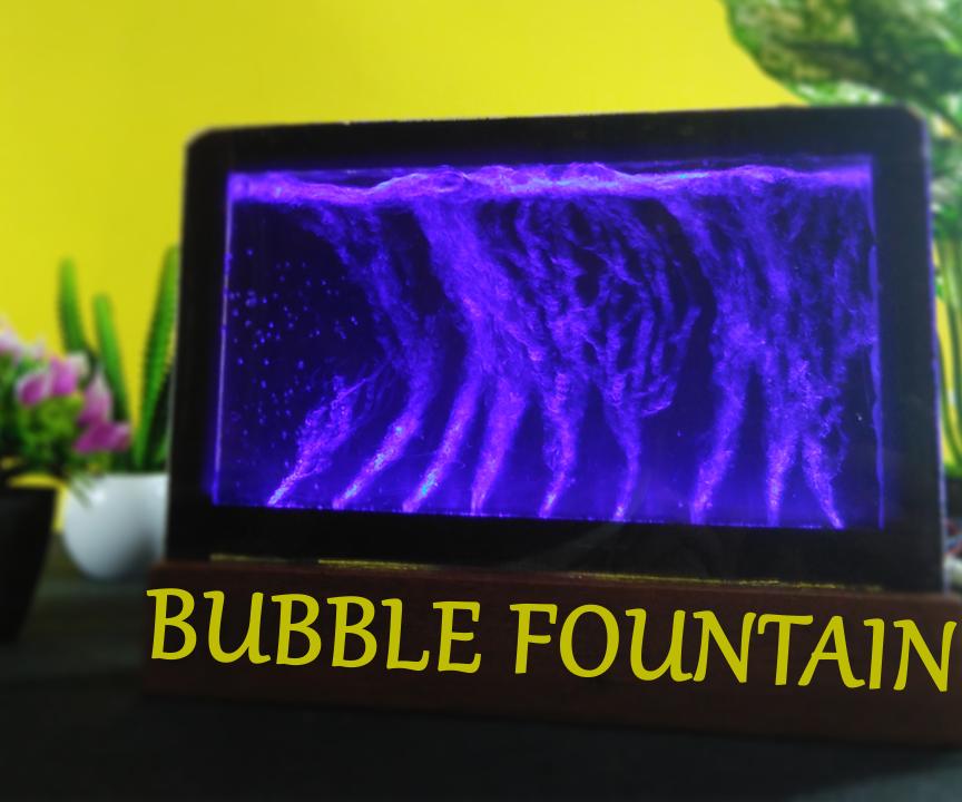 DIY Bubble Fountain