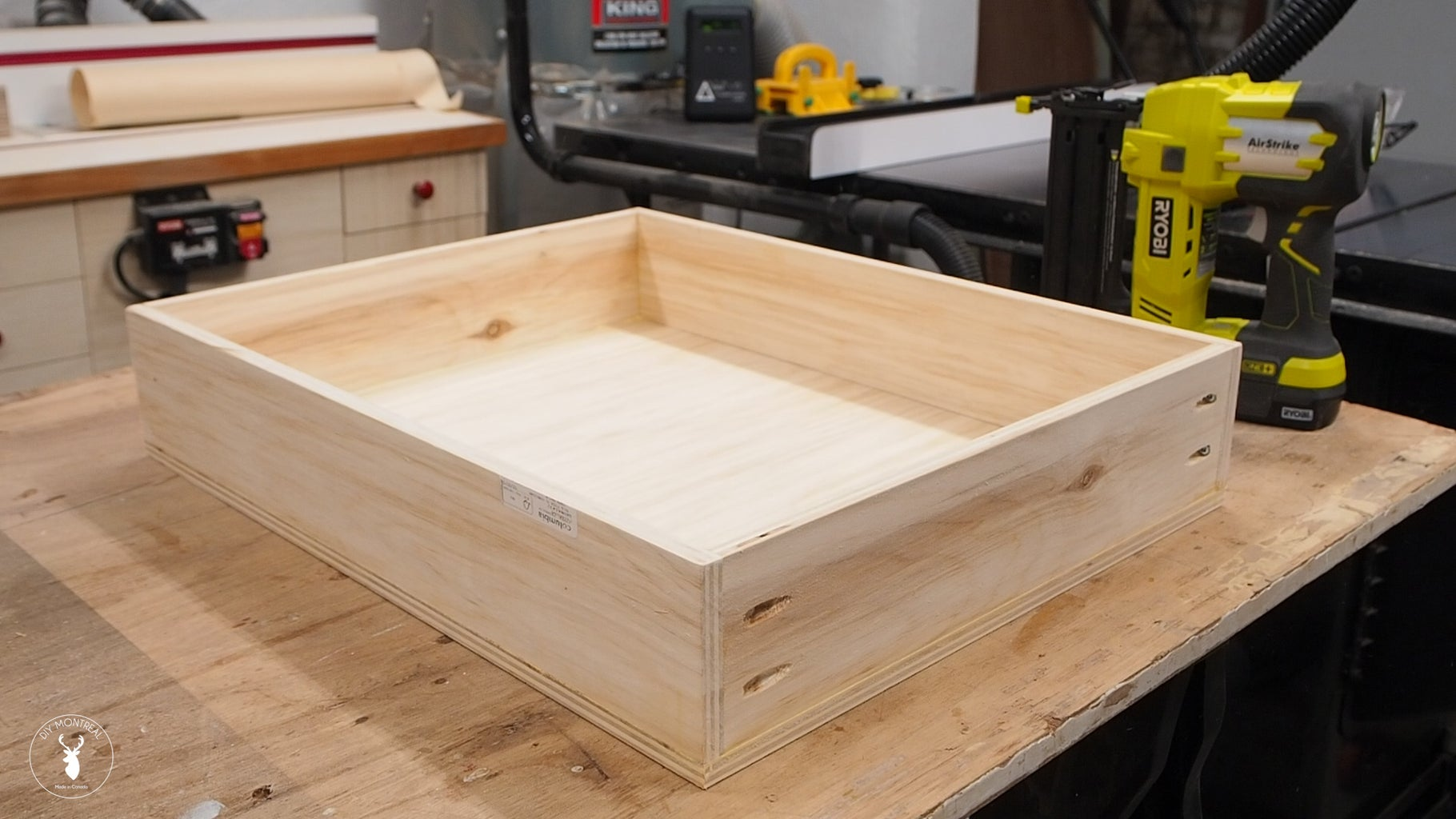 Assemble Drawers Boxes