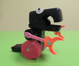Build a Motorized Dinosaur Using Plastic Trash, in 55 Minutes or Less!