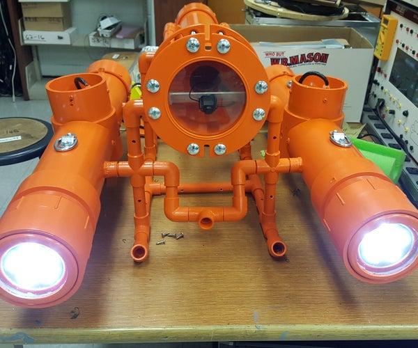 Nautilus - a Miniature Submarine for Underwater Exploration