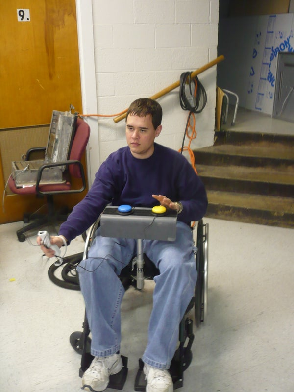 Wiimote Modification for Persons With Disabilities