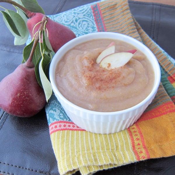 Homemade Pear Sauce