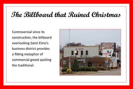 The Billboard That Ruined Christmas