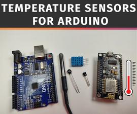 Interfacing DS18B20 Temperature Sensor With Arduino and ESP8266