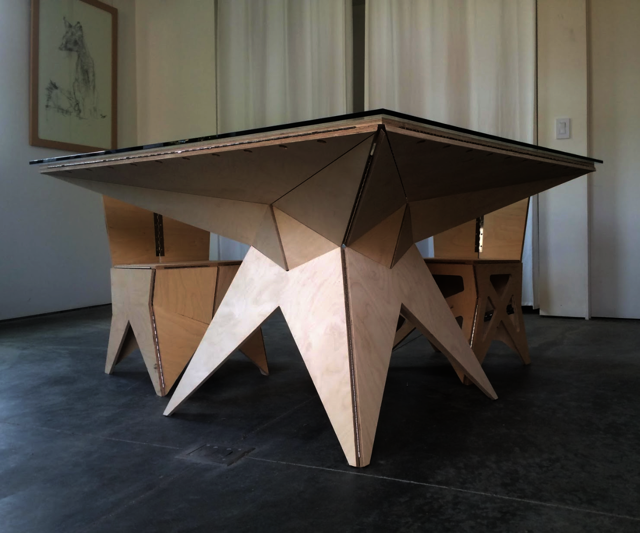 Origami Furniture Case Study: A Table
