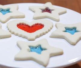 彩色玻璃饼干