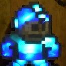 Light-Up Rainbow Wooden Mega Man