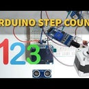 Simple Step Counter Using Arduino