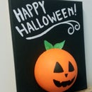 Kids Jack-o'-lantern Halloween Craft