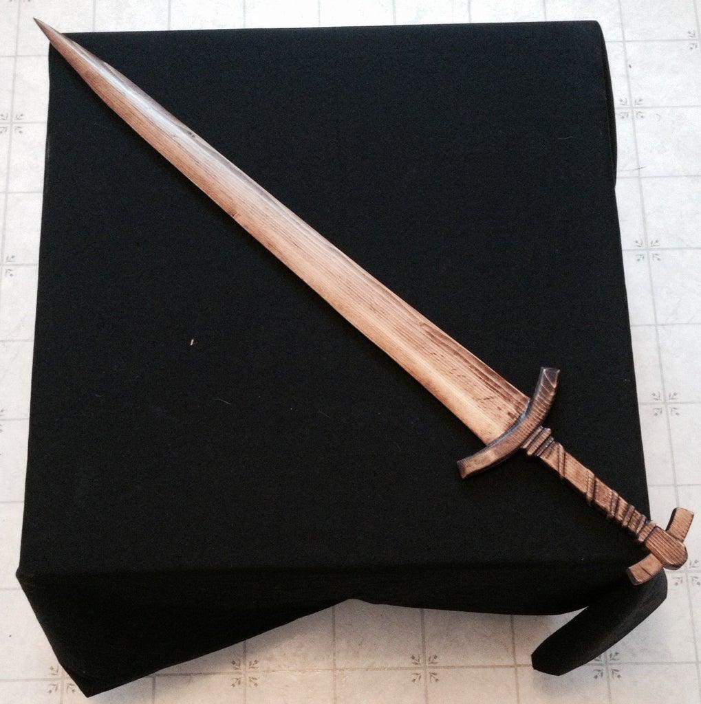 Skyrim Wood Carved Weapons