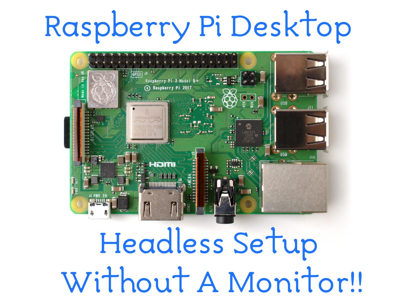 Raspberry Pi Desktop: Secure Headless Setup Without a Display