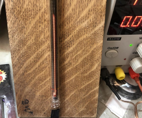 IN-13 Nixie Bargraph Arduino Control Circuit
