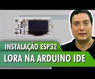Installing ESP32 LoRa on the Arduino IDE