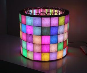 LED矩阵气缸