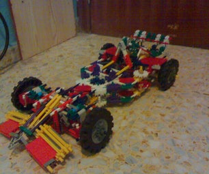 Knex F1 Suspension and Steering