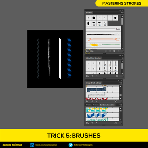 Trick 5: Brushes — Giving Strokes a Personality