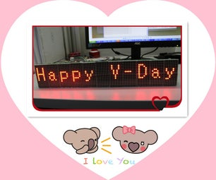 Special Valentines Gift Made With MAX7219 Dot Matrix Module