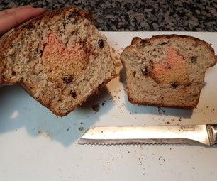 Raisin Bread With Heart Reveal
