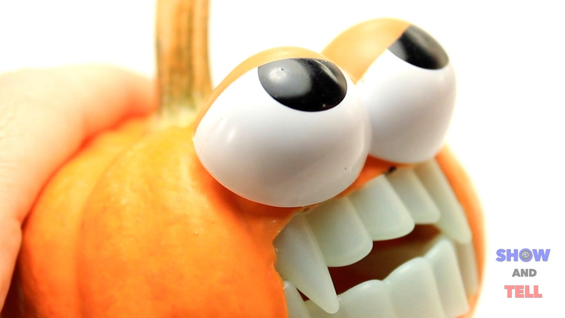 Mr. Potato Vampire Pumpkin Head