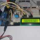 DHT11 Humidity sensor with a lcd display easy!!