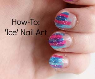 How-To: 'Ice' Nail Art