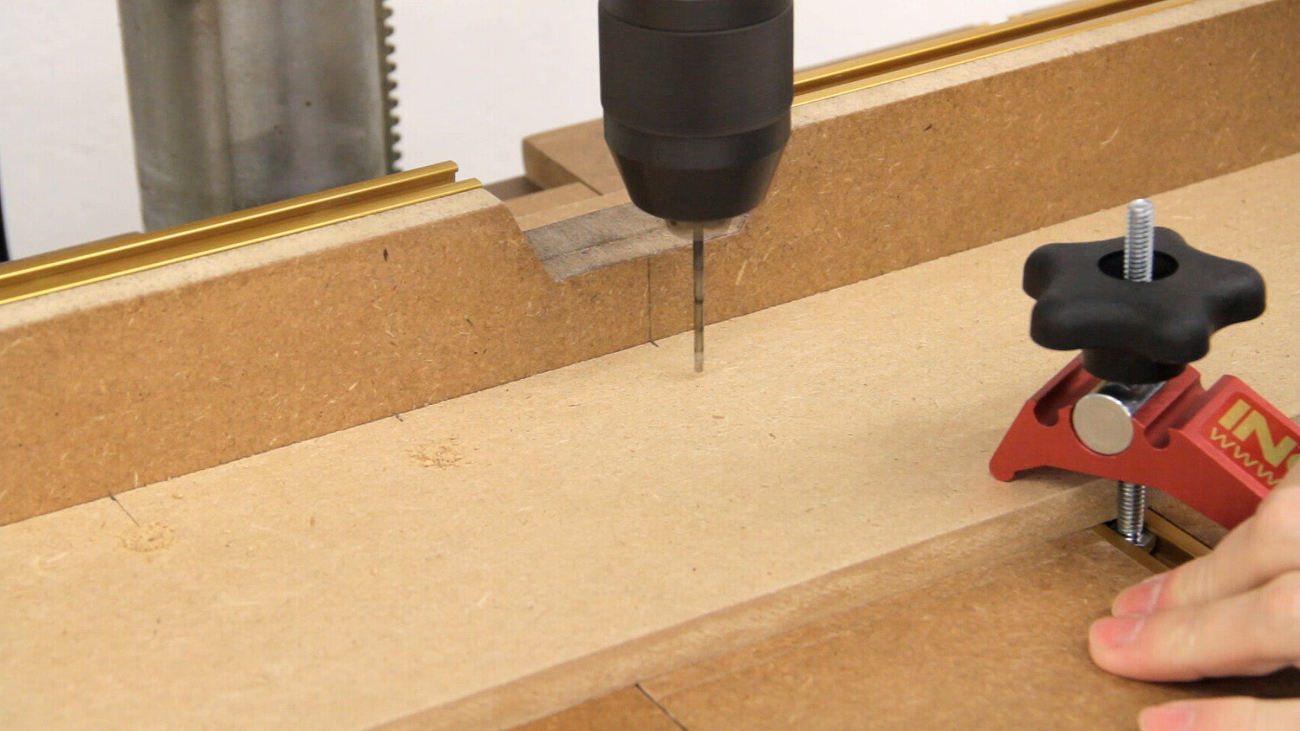 Guideline for Repetitive Drilling, Hold Downs, and Dust Collection