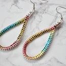Drop Zipper Earrings