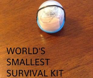 Worlds Smallest Survival Kit