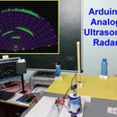 Arduino Analog Ultrasonic Radar