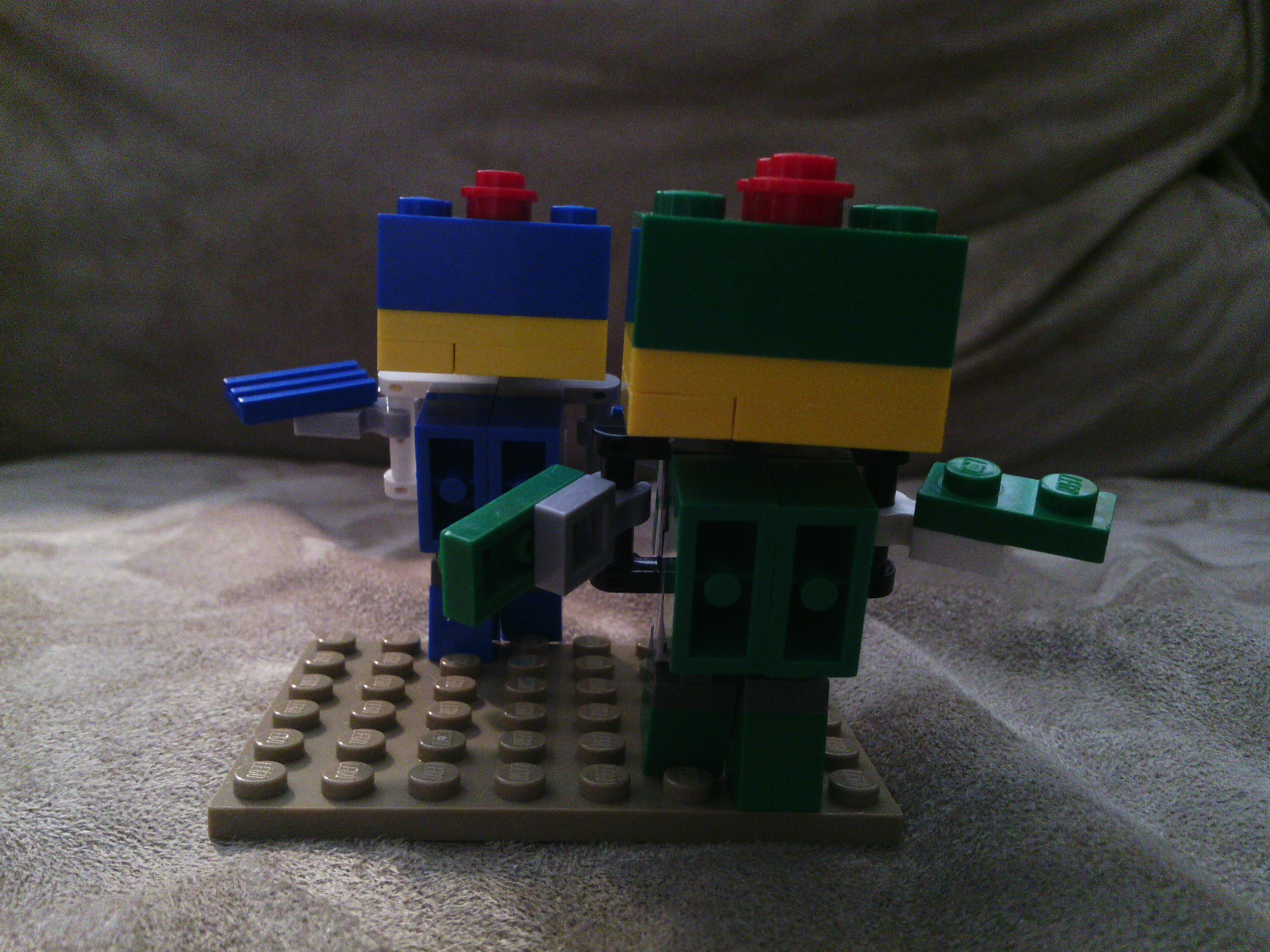 How To Build ThunderBumm & SpittleFumm out of Legos