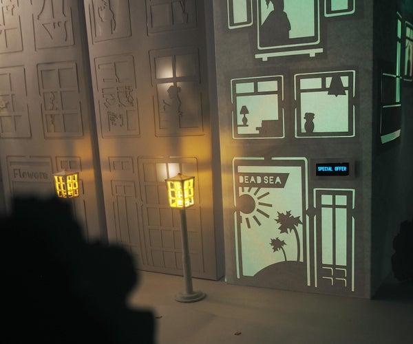 Interactive Window Display