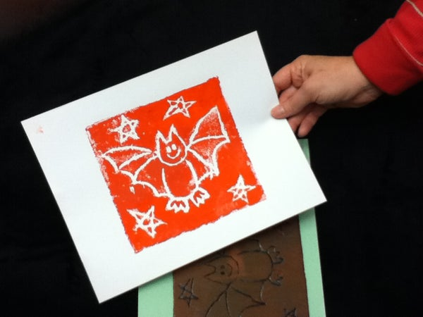 How to Make a Print Using a Carry-Out Box