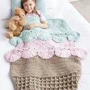 Ice Cream Crochet Snuggle Sack