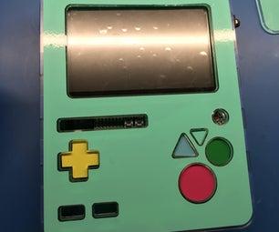 DIY Adventure Time BMO: Raspberry-Pi Powered Retro Game Handheld!