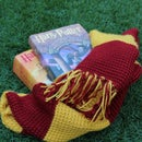 Tunisian Crochet Harry Potter's Gryffindor Scarf