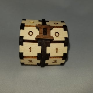 Wooden Game Points Counter