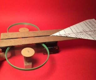 Make a Fun Paper Planes Launcher