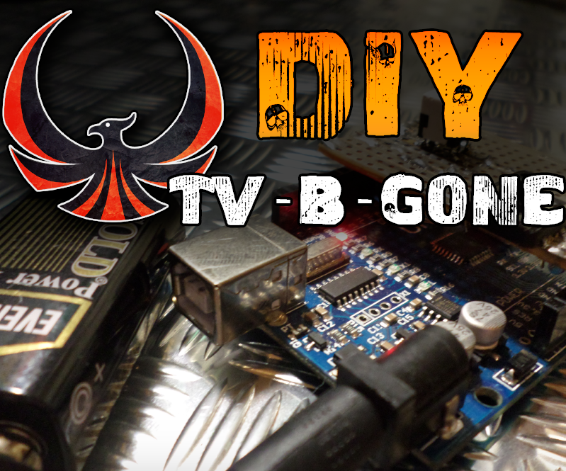 Arduino TV B-Gone (Switch ANY* TV off)