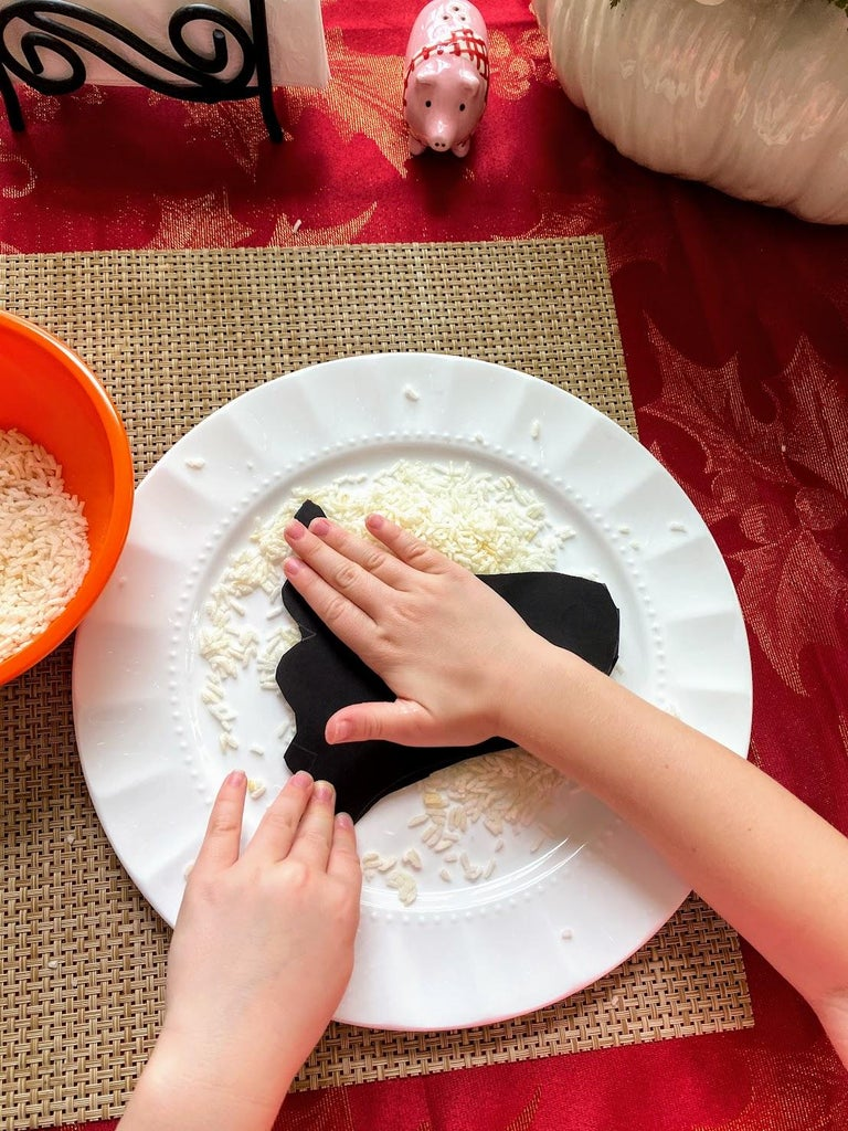 Cover Ghost With Rice