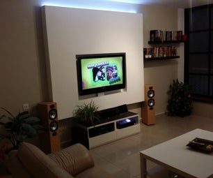 Drywall TV Niche