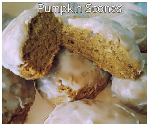 How to Make Organic Vegan Pumpkin Scones