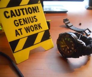 我是如何进入和制作帕拉轮的手表