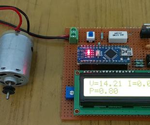 Arduino Wattmeter - Voltage, Current and Power Consumption