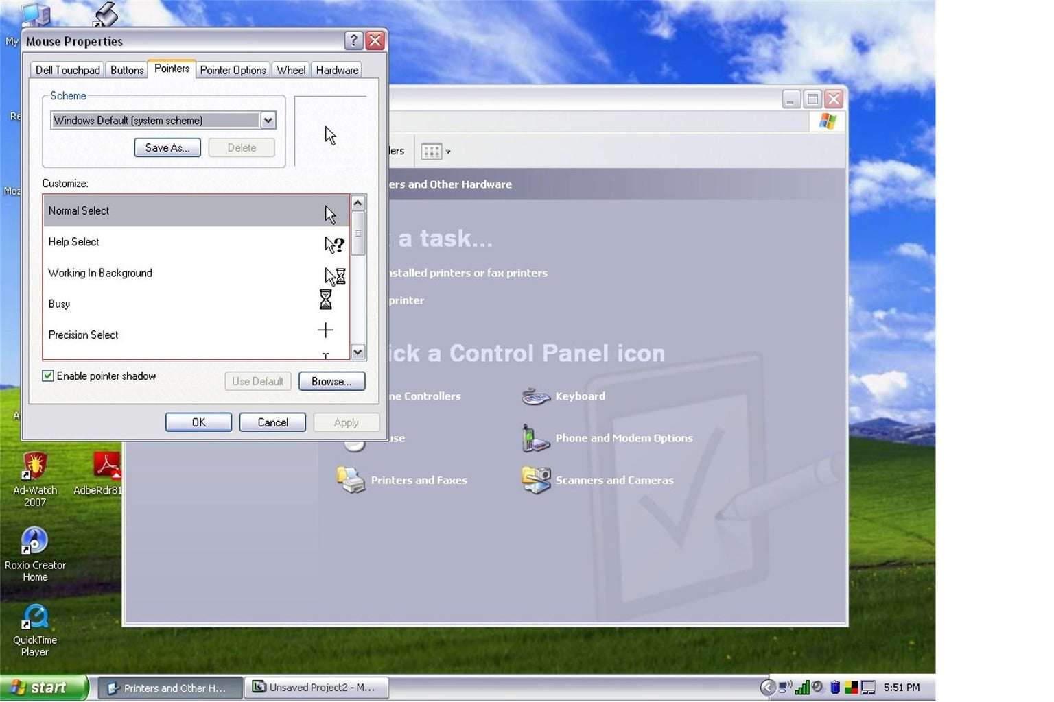 PC Mouse Pointer Prank
