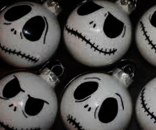 Jack Skellington Ornaments