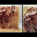 How to Make Cowboy Resin Art | Sculpture Art