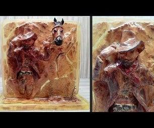 How to Make Cowboy Resin Art | Sculpture Art