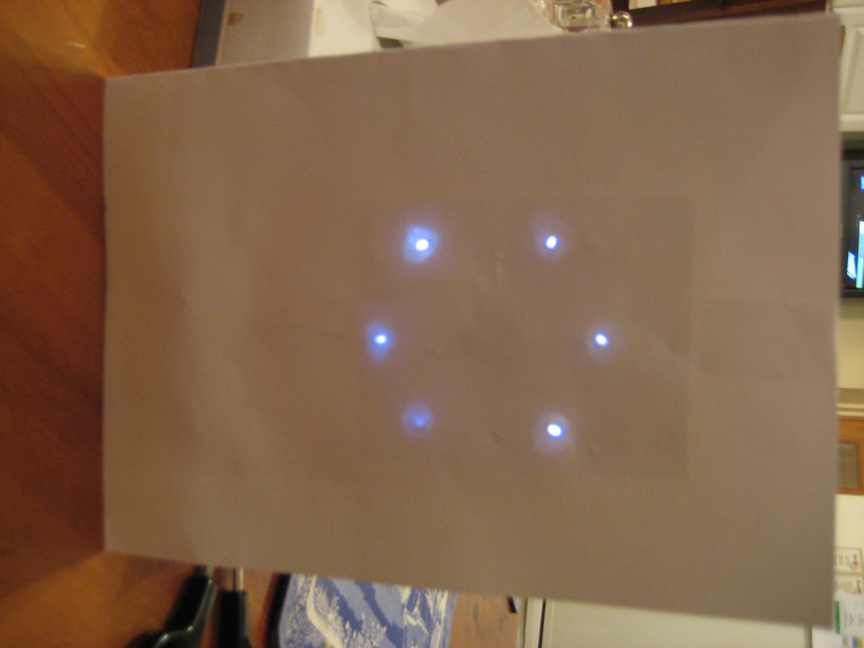LED Christmas Cards using PIC 10F200