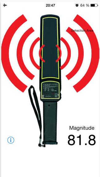 Turn Your Smartphone Into a Metal Detector sensor